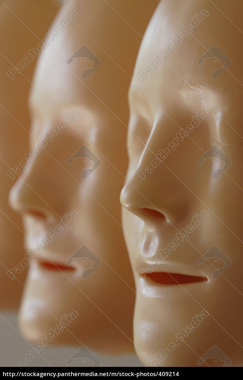 mask, profile - 409214