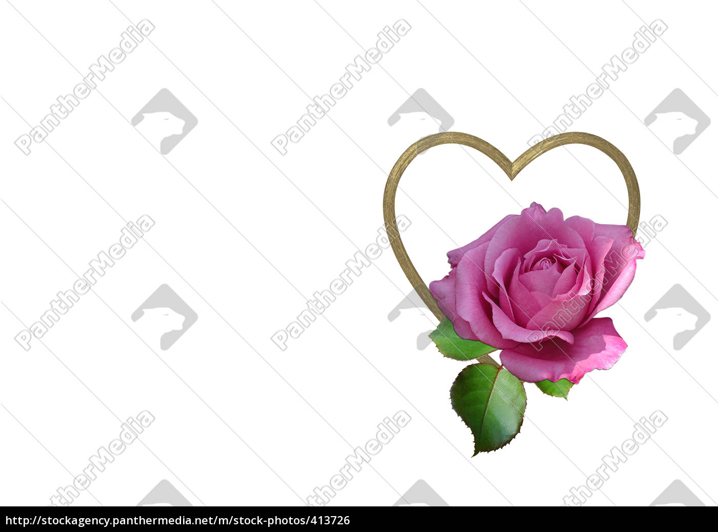 rose, and, heart - 413726