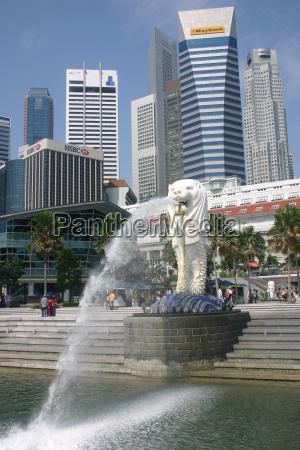 singapore, merlion - 415745