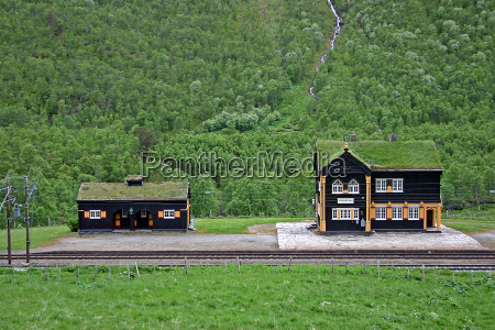 dreamy train station