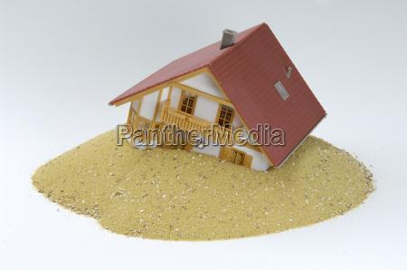 built on sand