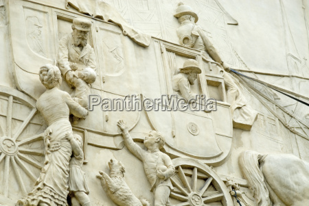 historic, stagecoach, relief - 429979