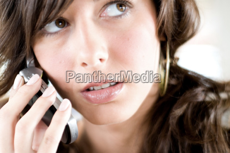 woman, with, cellphone - 434501