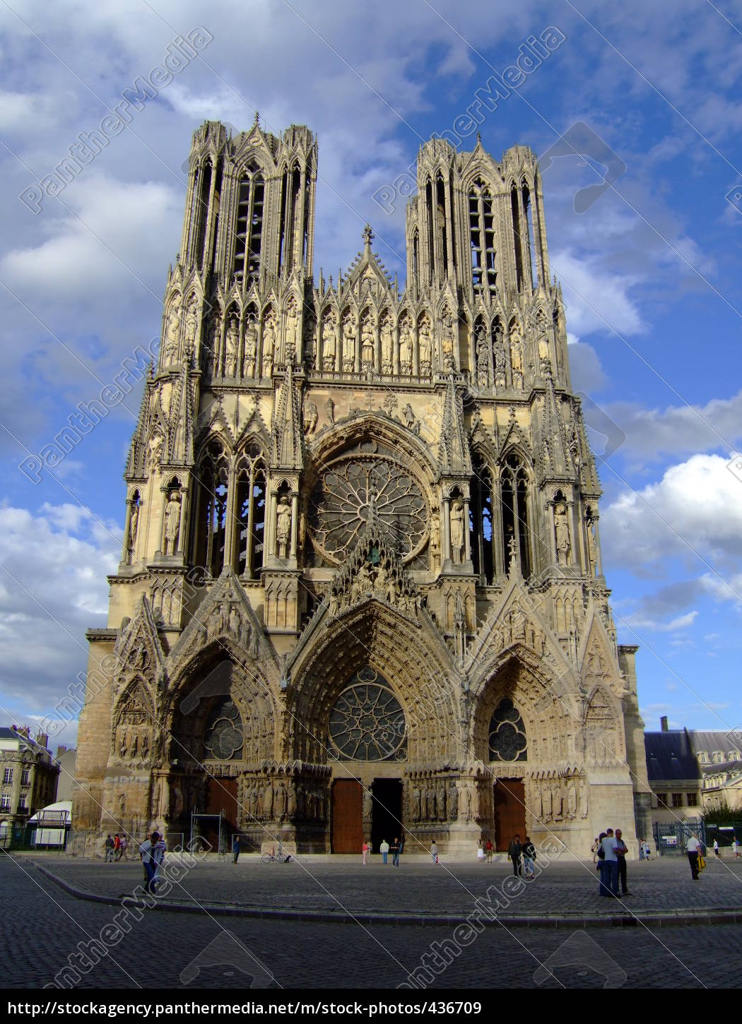 cathedral, in, reims, france - 436709