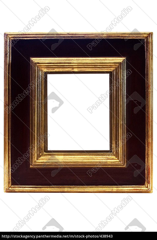 black, and, golden, frame - 438943