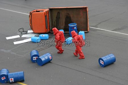 dangerous goods accident