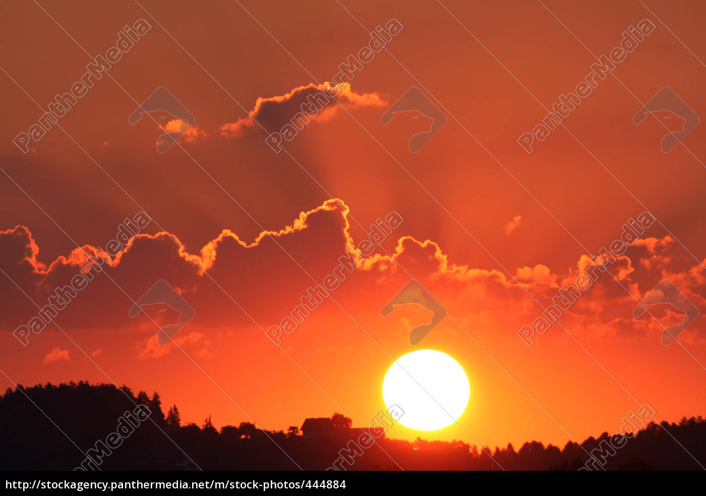 sunset - 444884