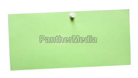 green, note - 448589