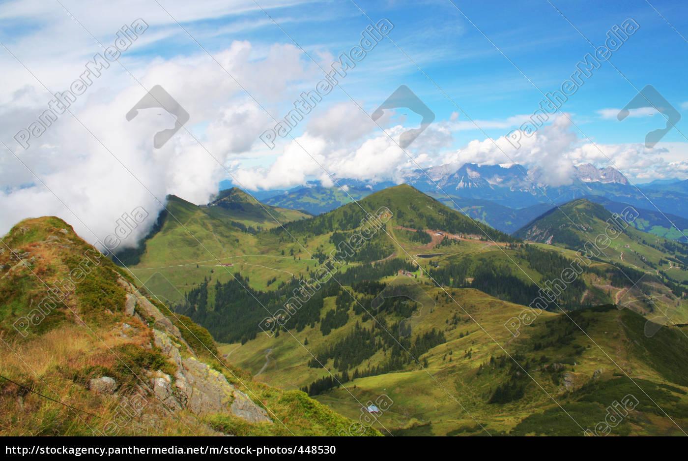 kitzbühel, alps, panorama, no., 4 - 448530