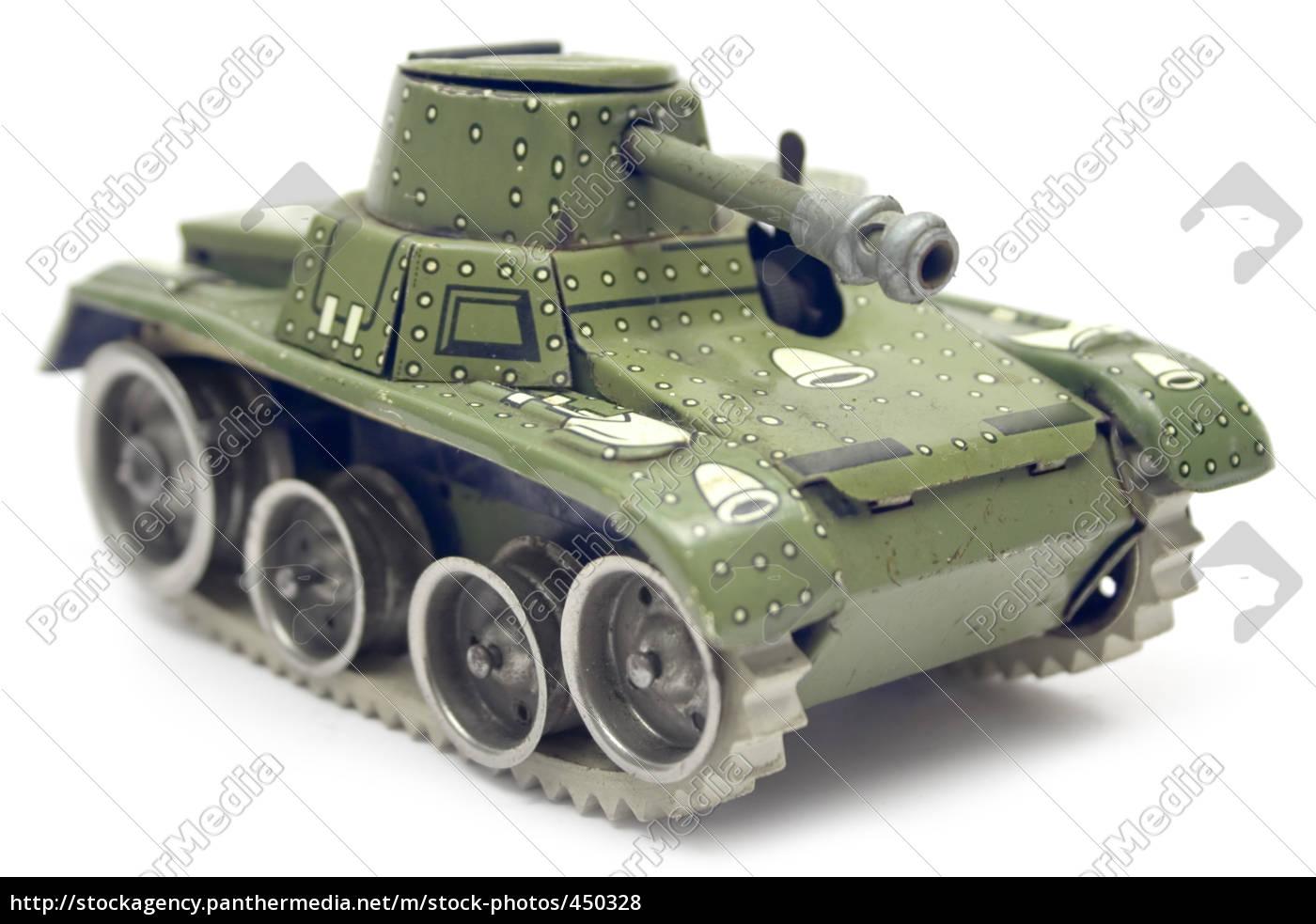 old, toy, tanks - 450328