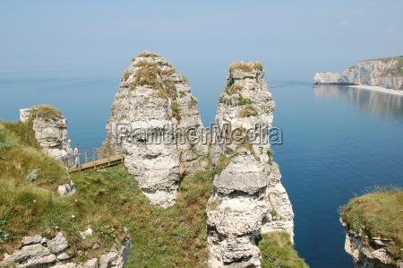 cliffs, at, etretat - 451260