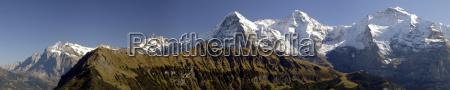 eiger, mönch, jungfrau - 455913