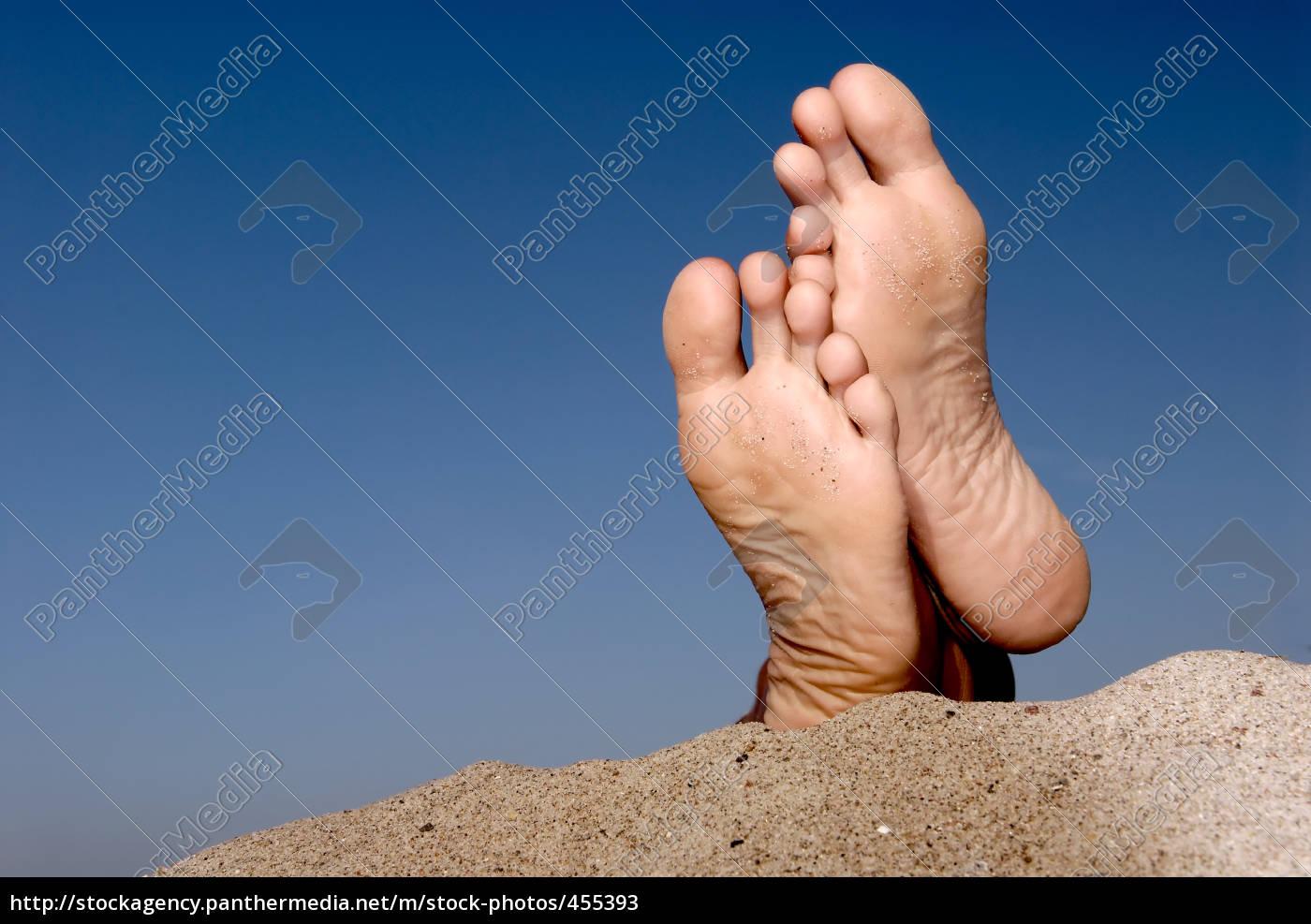 feet, on, the, beach. - 455393