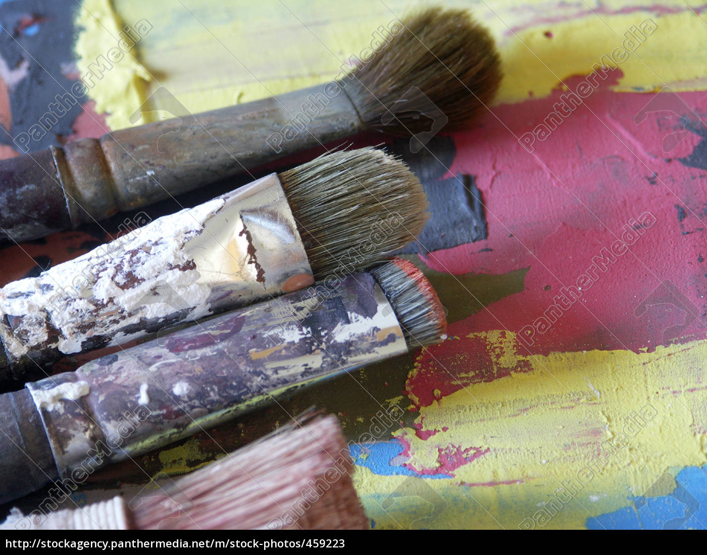 brush, and, palette - 459223