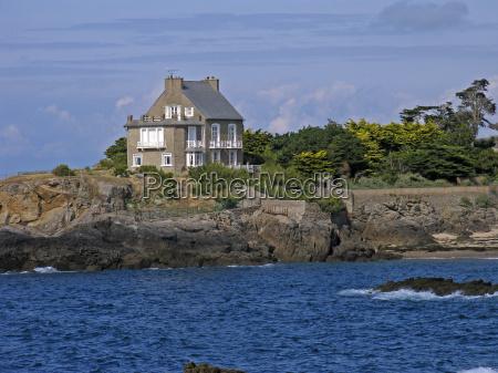 rotheneuf, house, brittany - 462994