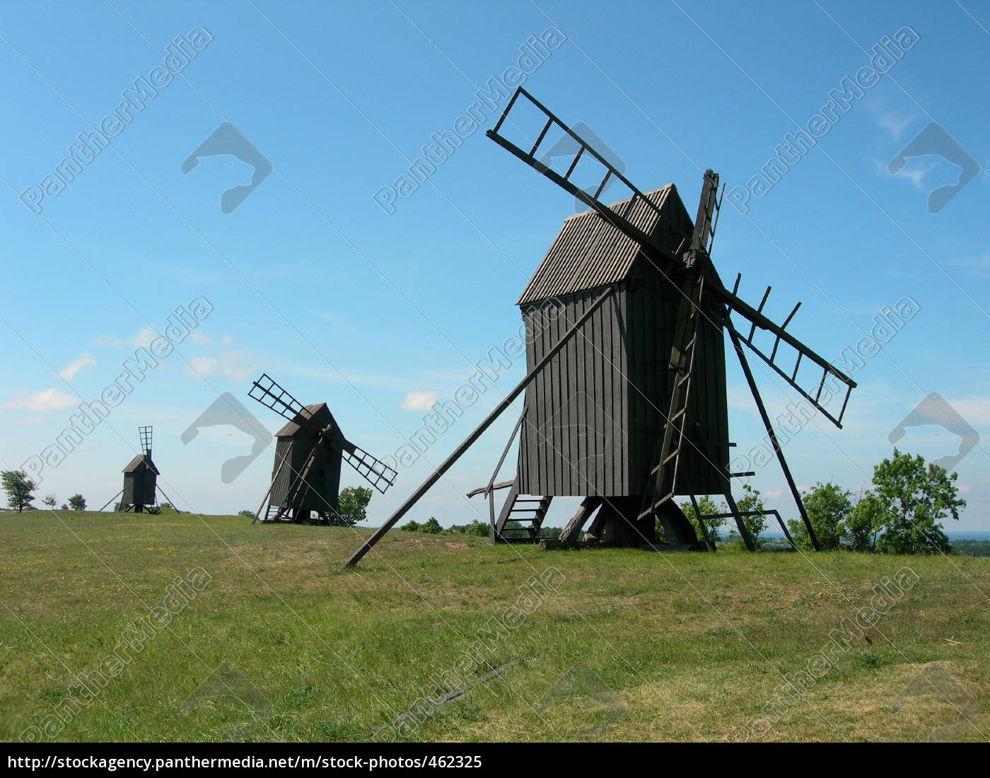windmills, on, öland - 462325