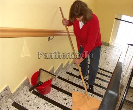 stairwell cleaning