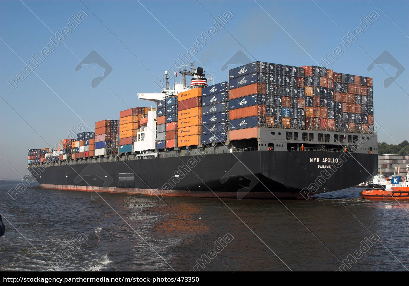 container, ship, stern - 473350