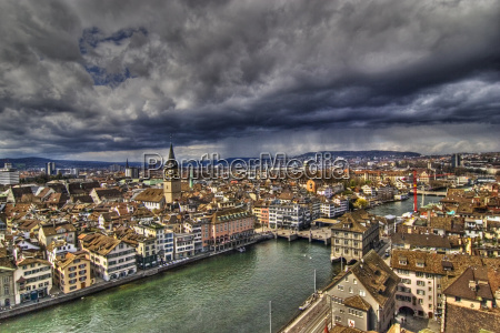 overlooking, the, limmat - 475063