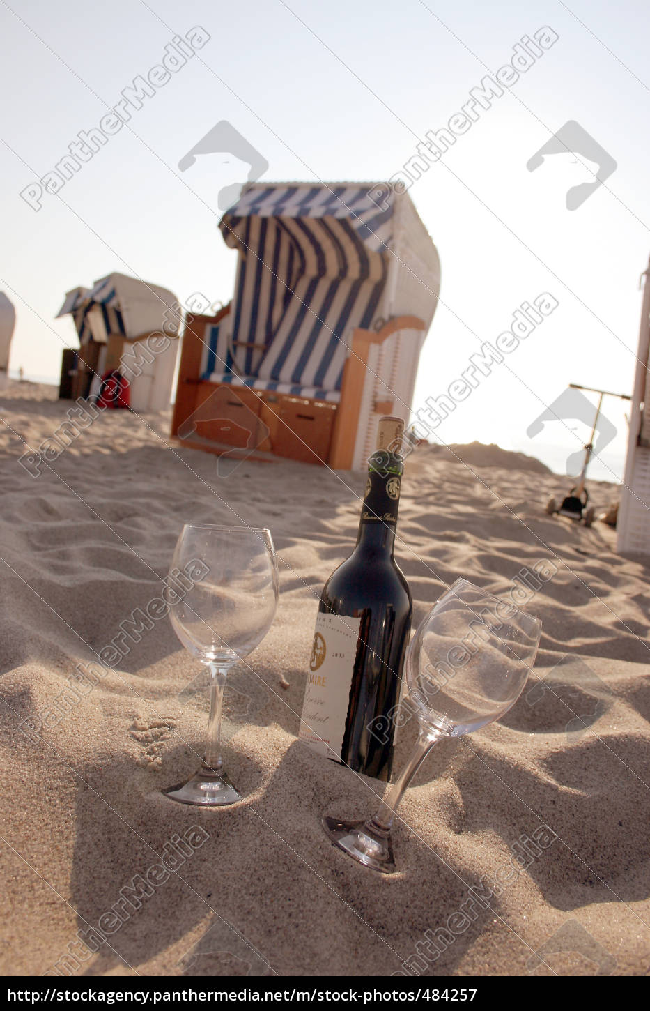 beach, basket, and, wine, bottle - 484257