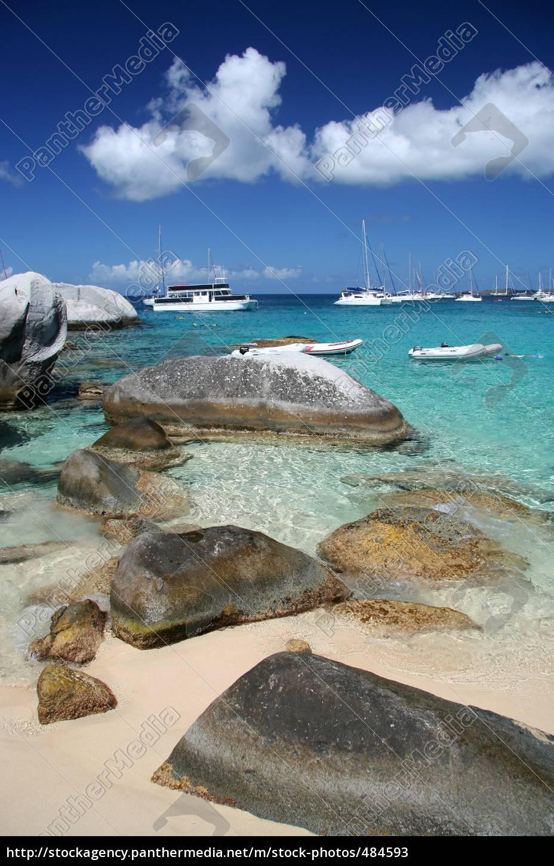 caribbean, beach - 484593