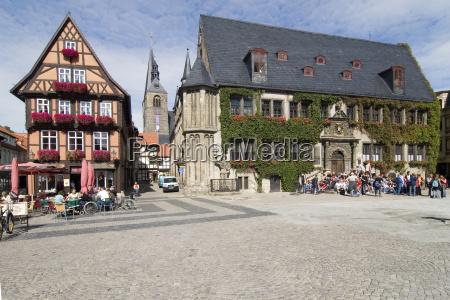 quedlinburg town hall square