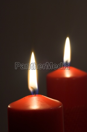 two, candles - 489425