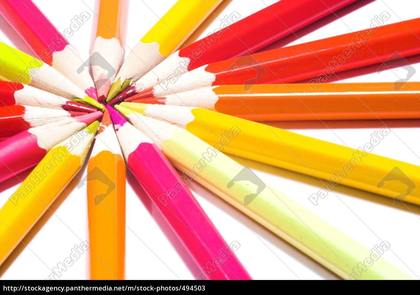 colored, pencils - 494503