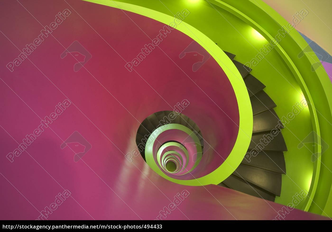 spiral, staircase, cottbus, ikmz, btu - 494433