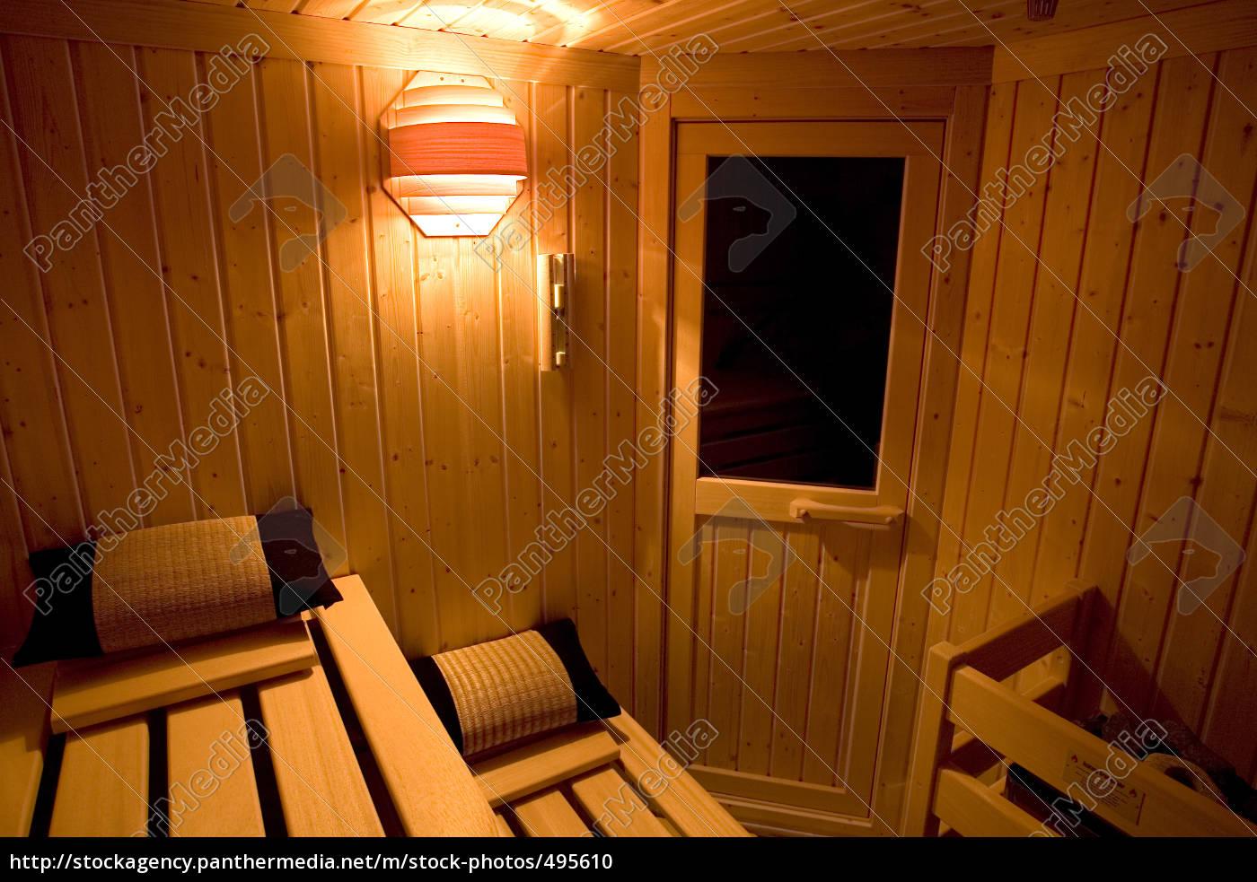 sauna, inside - 495610