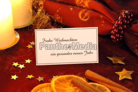 christmas, card - 496143