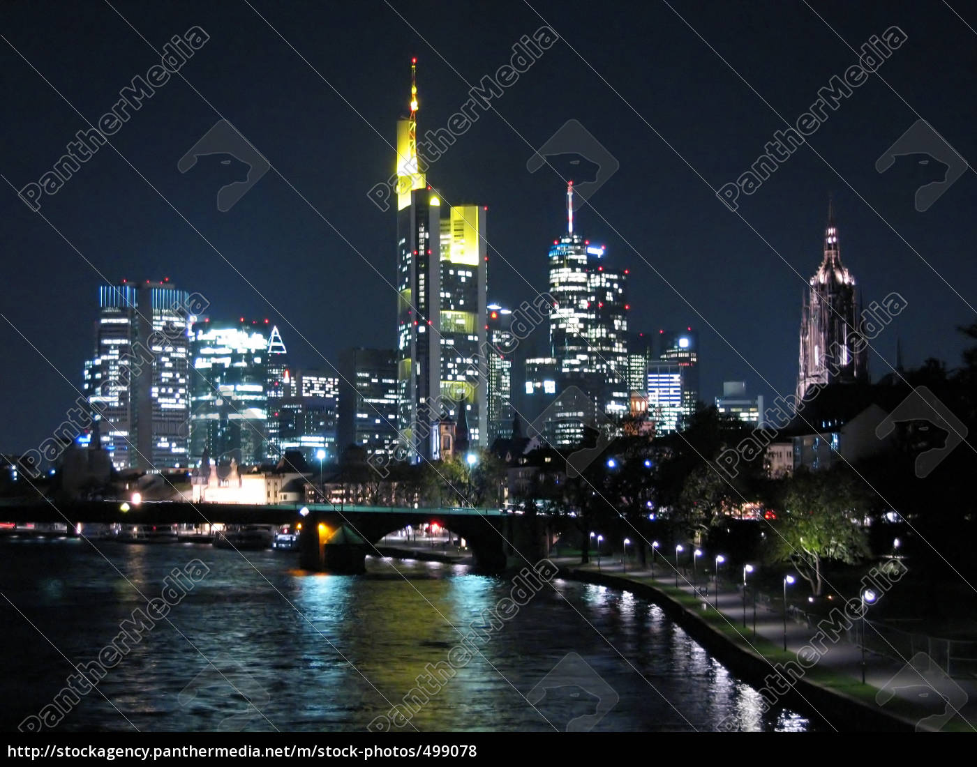 frankfurt, at, night - 499078
