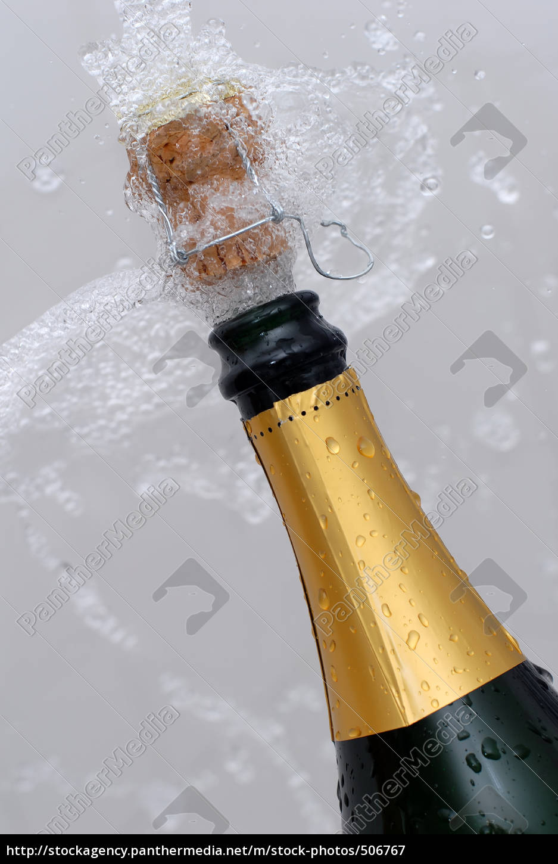 popping, champagne, bottle - 506767