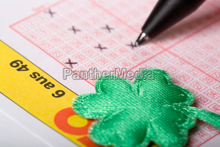 lotto, with, cloverleaf - 508533