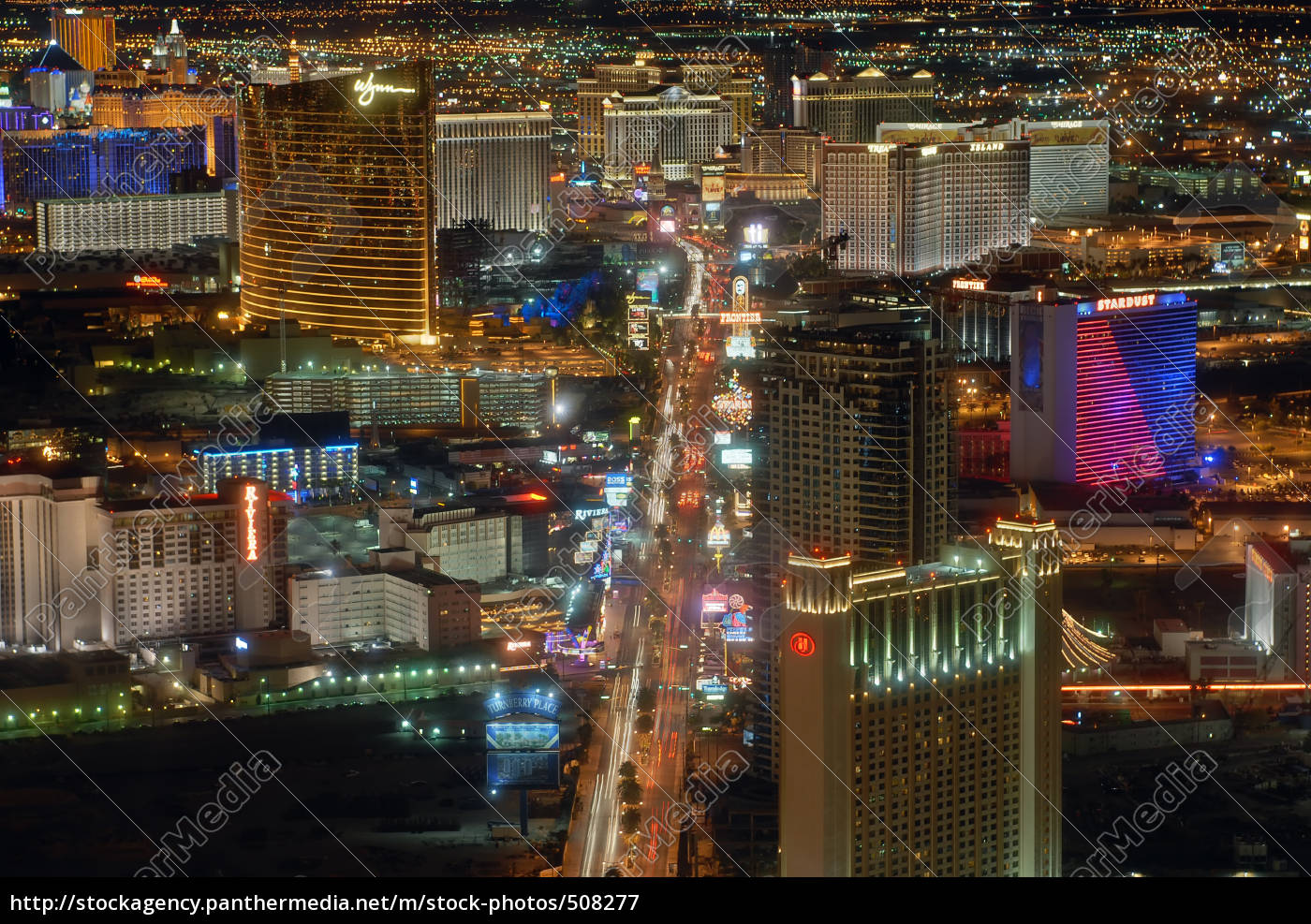 night, view, of, las, vegas - 508277