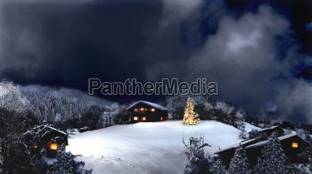 winter, night, 2 - 508758