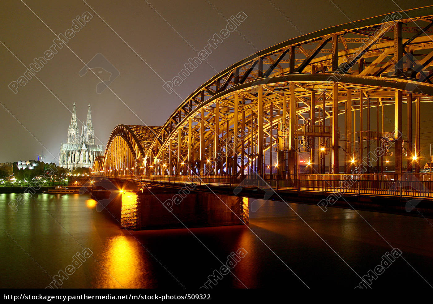 hohenzollern, bridge, cologne - 509322