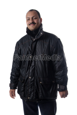 man in the anorak