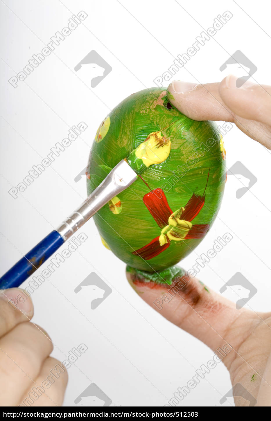 painted, easter, egg - 512503