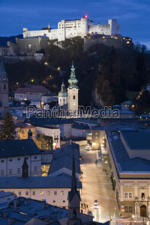 overlooking the festival district salzburg