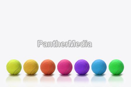 colorful, tennis, balls - 518887