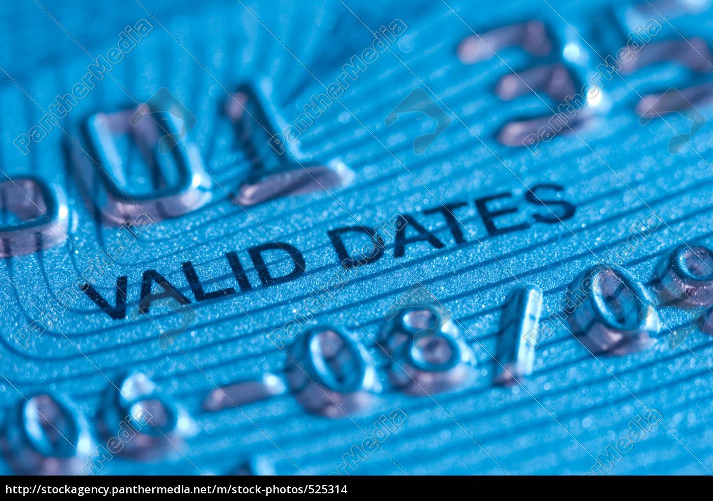 credit, card, valid, until..... - 525314