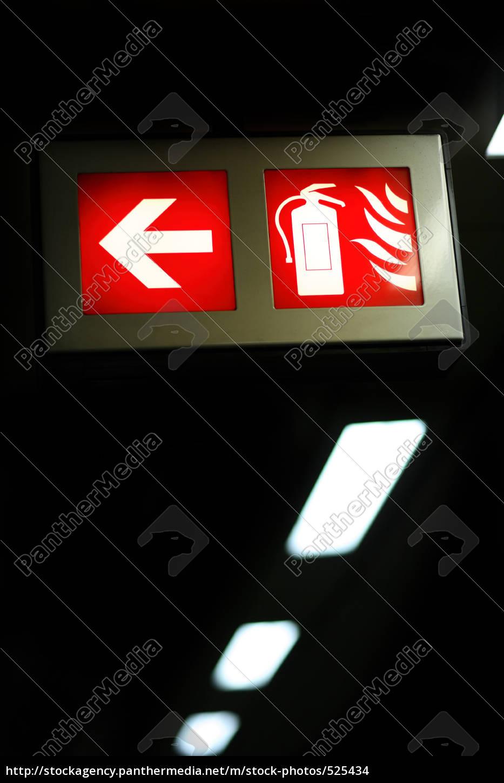 emergency, exit - 525434