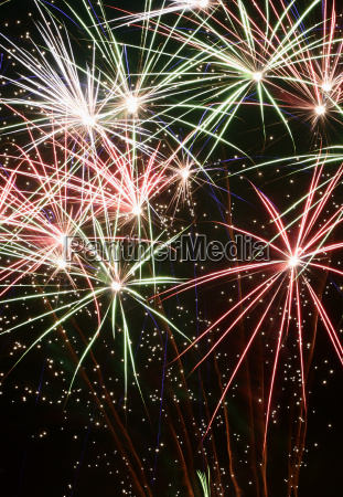 colorful, fireworks - 526399
