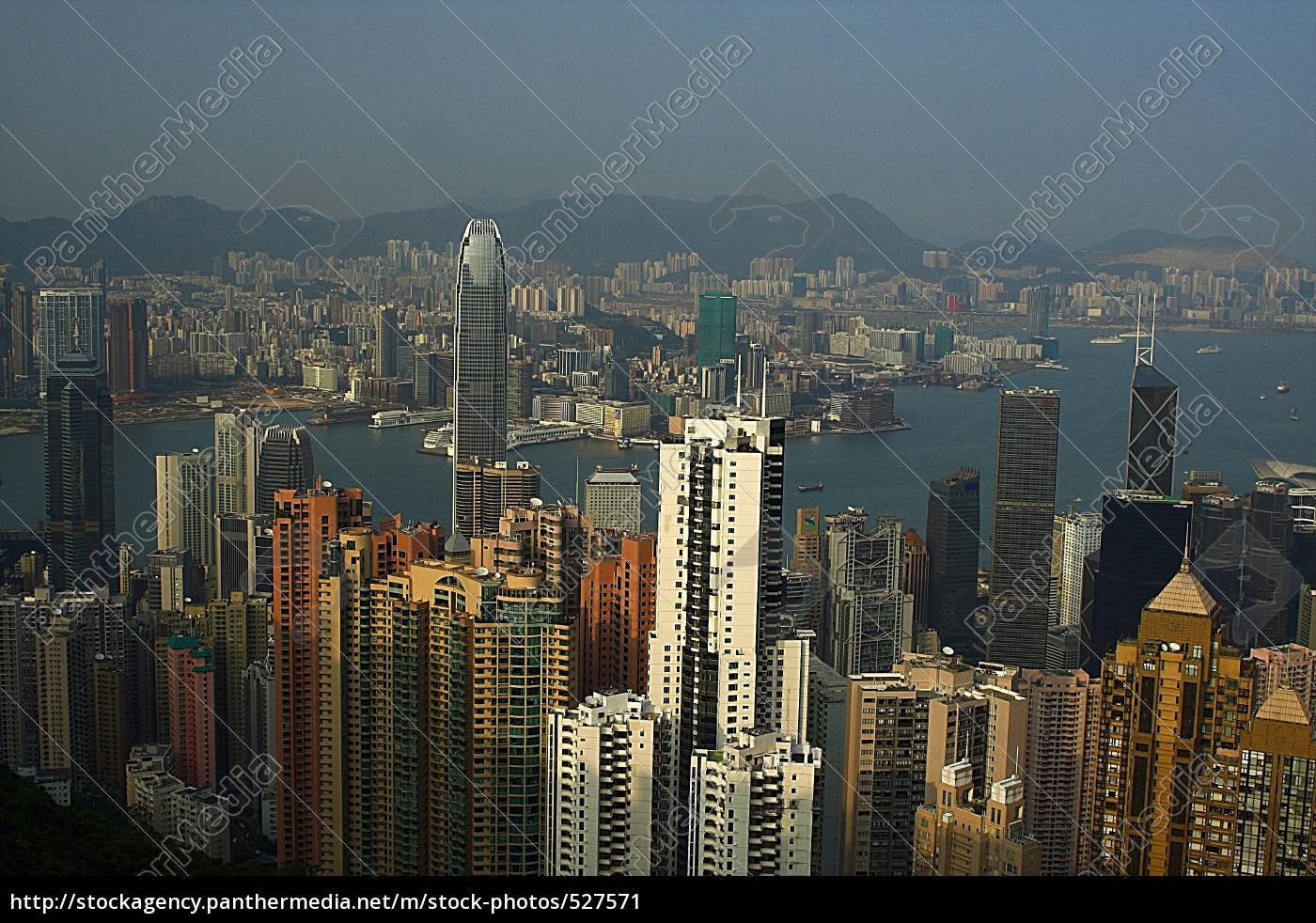 view, of, hong, kong - 527571