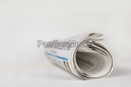 rolled, newspaper - 531031