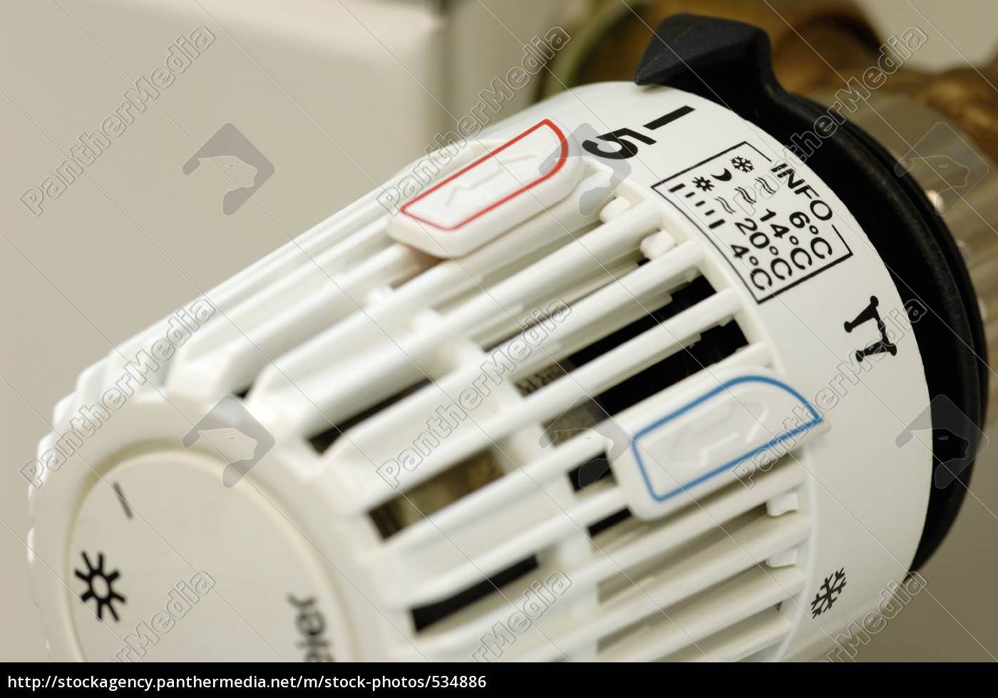 heating, thermostat, with, setting, info - 534886