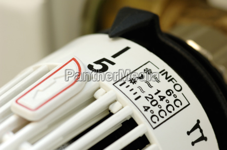 heating, thermostat, with, setting, info - 534889