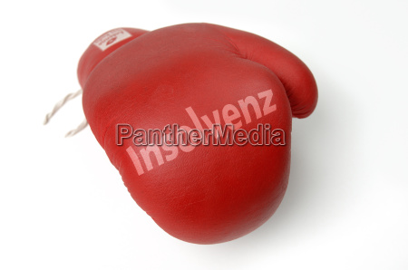 red boxing glove insolvency