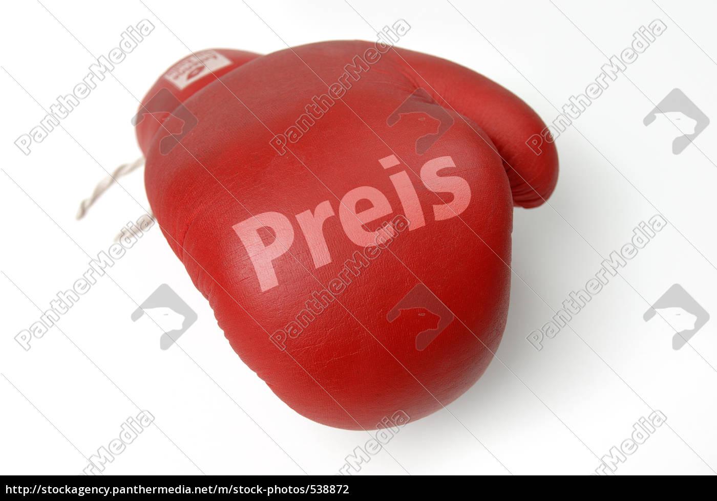 red, boxing, glove, imprint, price - 538872